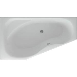 Акриловая ванна Акватек Медея 170х95 см левая фронтальная панель, каркас, слив-перелив (MED180-0000037)