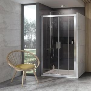 Душевая дверь Ravak 10 10DP4 120 прозрачная Транспарент, сатин (0ZKG0U00Z1) цена