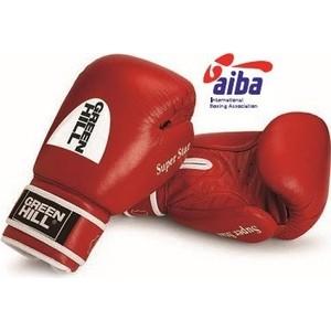 Перчатки боксерские GREEN HILL SUPER STAR BGS-1213a-12-RD