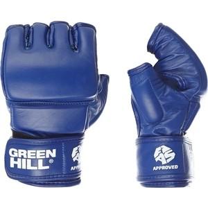 Перчатки GREEN HILL для боевого самбо MMF-0026a-M-BL, р. M одобрен FIAS
