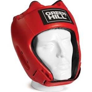 Шлем GREEN HILL ALFA HGA-4014-XL-RD, р. XL