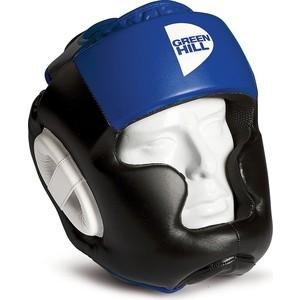 Шлем GREEN HILL POISE HGP-9015-XL-BL, р. XL, иск. кожа ПУ, черно-синий цена
