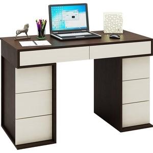 Стол письменный Мастер Антер-4 (венге-дуб молочный) МСТ-СТА-04-ВД-16 стеллаж мастер либерти 9 дуб молочный мст стл 09 дм 16