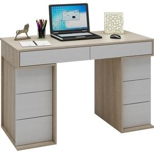Стол письменный Мастер Антер-4 (дуб сонома-белый) МСТ-СТА-04-СБ-16