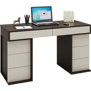 Стол письменный Мастер Антер-5 (венге-дуб молочный) МСТ-СТА-05-ВД-16