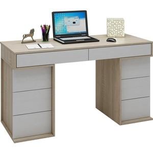 Стол письменный Мастер Антер-5 (дуб сонома-белый) МСТ-СТА-05-СБ-16