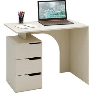 Стол письменный Мастер Нейт-1 (дуб молочный) МСТ-СТН-01-ДМ-16