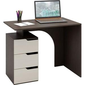 Стол письменный Мастер Нейт-1 (венге-дуб молочный) МСТ-СТН-01-ВД-16 цены