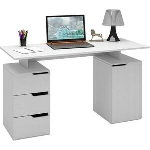 Стол письменный Мастер Нейт-3 (белый) МСТ-СТН-03-БТ-16