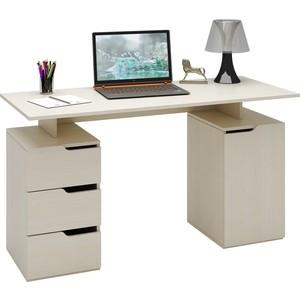 Стол письменный Мастер Нейт-3 (дуб молочный) МСТ-СТН-03-ДМ-16 цены