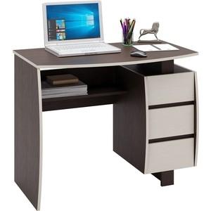 Стол письменный Мастер Экстер-5 (венге/дуб молочный) МСТ-СТЭ-05-ВМ-ДМ-16 стол письменный мастер экстер 9 венге дуб молочный мст стэ 09 вм дм 16