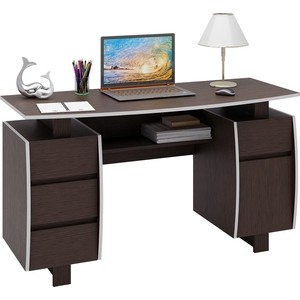 Стол письменный Мастер Экстер-9 (венге) МСТ-СТЭ-09-ВМ-16 стол письменный мастер экстер 9 венге дуб молочный мст стэ 09 вм дм 16