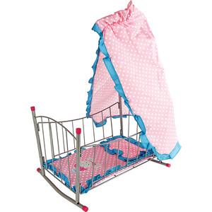 Кровать Mary Poppins качалка с балдахином Зайка (67314)