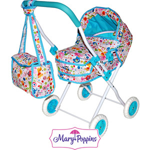 Коляска Mary Poppins люлька Фантазия с сумкой (67315)