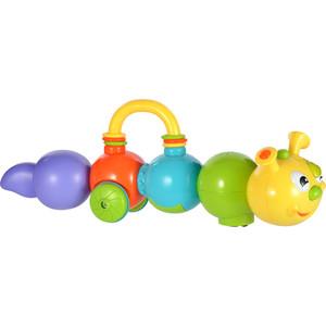 развивающая игрушка Жирафики Сенсорная Говорящая гусеница, говорит на русском, объезжает препятствия (939498) жирафики сенсорная развивающая игрушка говорящая гусеница
