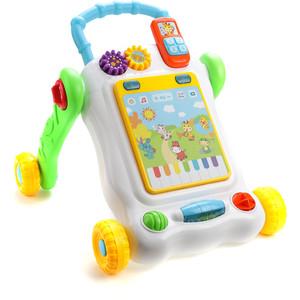 Игровой центр Жирафики Каталка-ходунок с развивающим планшетом и контролем скорости (939541)