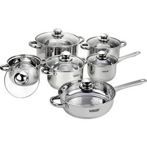 Набор посуды 12 предметов Vitesse (VS-9002)