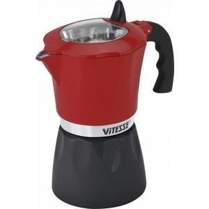 Кофеварка гейзерная Vitesse (VS-2643 Красный)