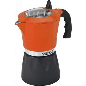 Кофеварка гейзерная Vitesse (VS-2643 Оранжевый)
