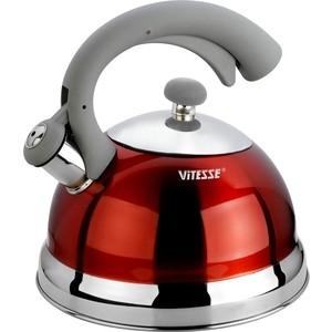 цена на Чайник со свистком 2.5 л Vitesse Lishan (VS-1116 Красный)