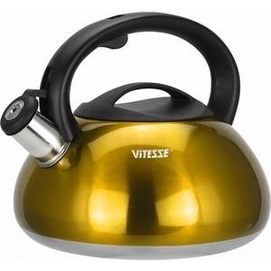 Чайник со свистком 3 л Vitesse (VS-1121 Желтый)