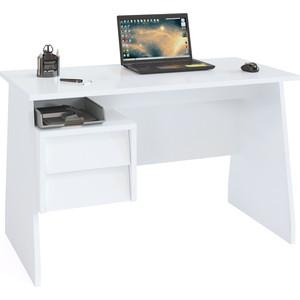 Письменный стол СОКОЛ КСТ-115 белый письменный стол сокол кст 107 1
