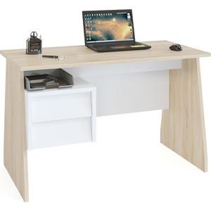 Письменный стол СОКОЛ КСТ-115 дуб сонома/белый письменный стол сокол кст 107 1
