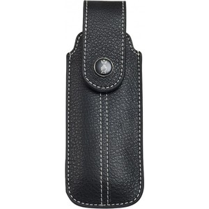 Чехол Opinel Chic black leather (натуральная кожа, размер № 7, 8, 9) chic stripe decorated buckle leather waist belt for men