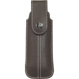 Чехол Opinel Chic brown leather (натуральная кожа, размер № 7, 8, 9) chic stripe decorated buckle leather waist belt for men