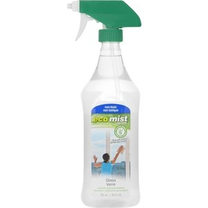 Средство Eco Mist для мытья стекол Glass Cleaner, 825 мл средство для удаления жира eco mist 825 мл