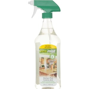 Средство Eco Mist для очистки кухонных поверхностей Kitchen Plus, 825 мл средство для удаления жира eco mist 825 мл