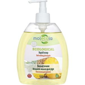 Жидкое мыло для рук Molecola Освежающий Ананас экологичное, 500 мл