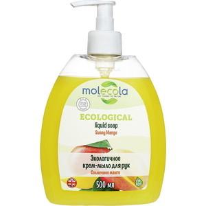 Крем-мыло для рук Molecola Солнечное Манго экологичное, 500 мл