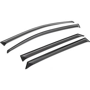 Дефлекторы окон AutoFlex для Hyundai Tucson III 5-дв. (2015-2018 / 2018-н.в.), акрил, 4 шт., 823005