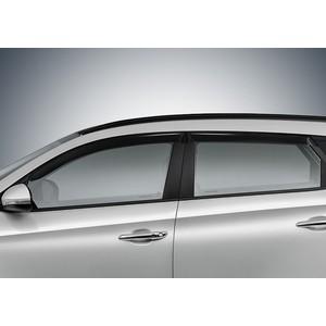 Дефлекторы окон AutoFlex для Hyundai Tucson (2015-н.в.), акрил, 4 шт., 823005
