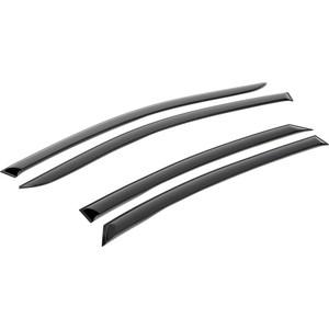 Дефлекторы окон AutoFlex для Kia Rio седан (2012-2017), поликарбонат, 4 шт., 828102