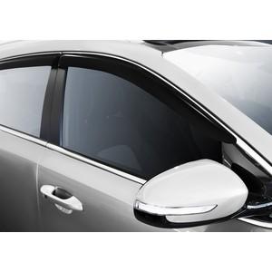 Дефлекторы окон AutoFlex для Kia Sportage (2016-н.в.), акрил, 4 шт., 828005
