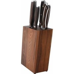 цена Набор ножей 7 предметов BergHOFF Dark Wood (1307170) онлайн в 2017 году