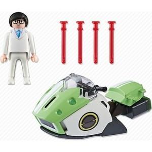 Игровой набор Playmobil Супер4: Скайджет (6691pm) playmobil игровой набор трактор с прицепом