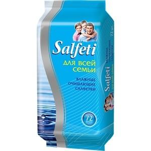 Влажные салфетки Salfeti Авангард для всей семьи, 72 шт.
