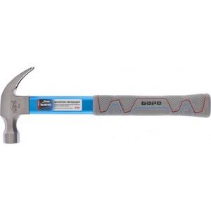 Молоток-гвоздодер Барс 370г алюминиевая защита (10455)