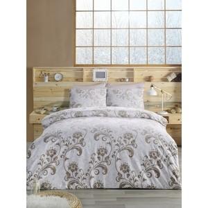 Комплект постельного белья Altinbasak 1,5 сп, ранфорс, Lucian коричневый (298 / 63 CHAR002)