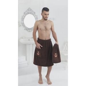 купить Набор для сауны мужской Karna Pamir коричневый (2608 / CHAR002) дешево