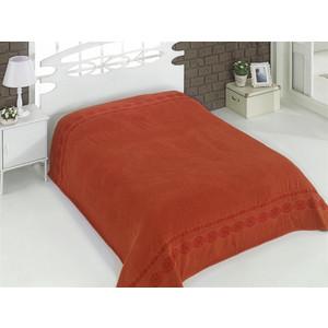 Простынь Karna махровая Rebeka 200x220 см кирпичный (2655 / CHAR006) rebeka ross пиджак