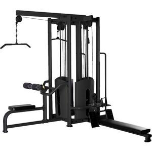 Многофункциональный силовой комплекс Bronze Gym BS-8848 (черный) 4-х позиционная