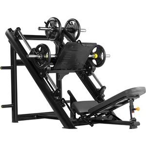 Жим ногами Bronze Gym H-022 под углом 45 градусов (черный) цена