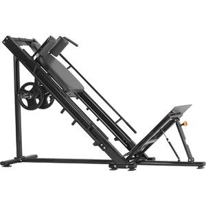 Жим ногами Bronze Gym H-022A Гакк-машина (черный)