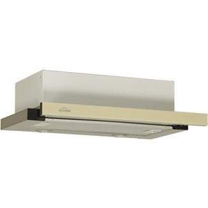 Вытяжка Elikor Интегра GLASS 45Н-400-В2Д нерж/стекло бежевое