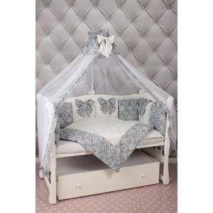 Комплект в кроватку AmaroBaby 18 предметов (6+12 бортиков) комплект в кроватку kidboo sweet home 6 предметов pink