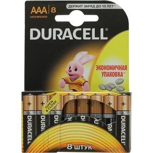 Батарейка Duracell AAA MN2400/LR03 BASIC (8 шт.) цены